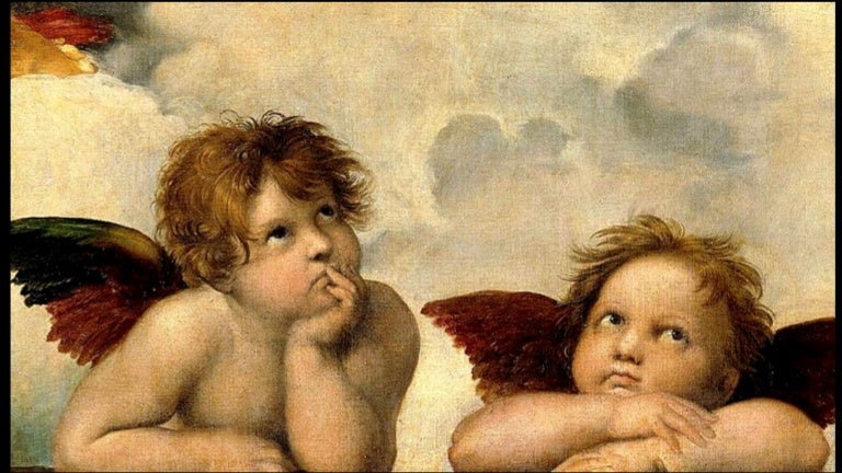 Art in Detail:Famous Paintings of Angels
