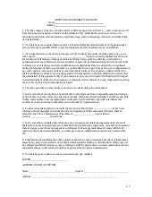 artists management contract - Khafre