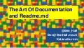 The art of documentation and readme.md