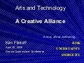 Arts and Technology: A Creative Alliance (DramaQueensland 2005)
