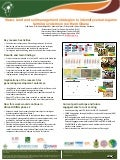 Water, land and soil management strategies to intensify cereal-legume farming systems in northern Ghana