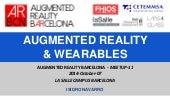 Augmented Reality & WEARABLES