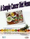 A sample cancer diet menu