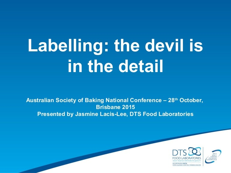 Asb conference bne 2015 labelling #3