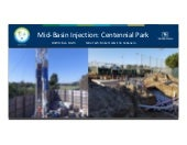 ASCE OC - EWRI: OCWD Mid-Basin Injection: Centennial Park Project