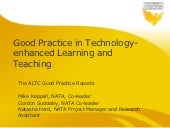 Technology-enhanced Learning and Teaching Report