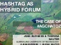 Hashtag as hybrid forum: the case of #agchatoz