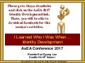 AsEA 2017 Racial and Ethnic Identity Development