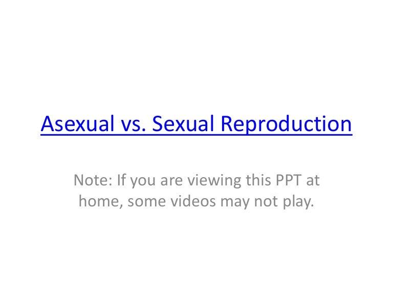 Asexual vs sexual venn diagram