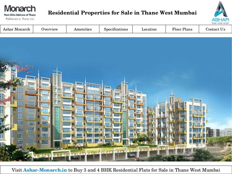 Properties In Thane For Sale