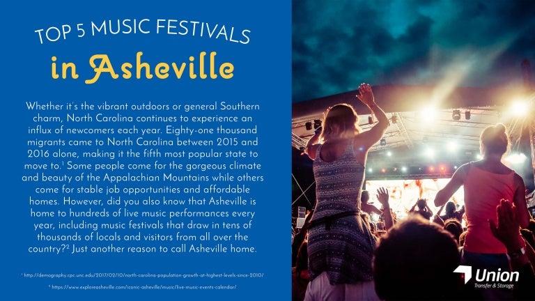 Top 5 Music Festivals in Asheville North Carolina