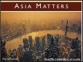 The Asia Matters Report by Graham D Brown