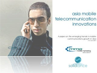 Asia Mobile Telecom Innovations Solidiance MMA
