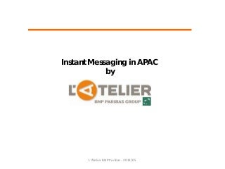 Asian landscape for instant messaging by l'Atelier