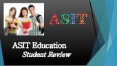 ASIT Education's student reviews