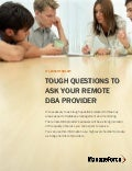 Tough Questions for Your DBA Provider - IT Leader Toolkit