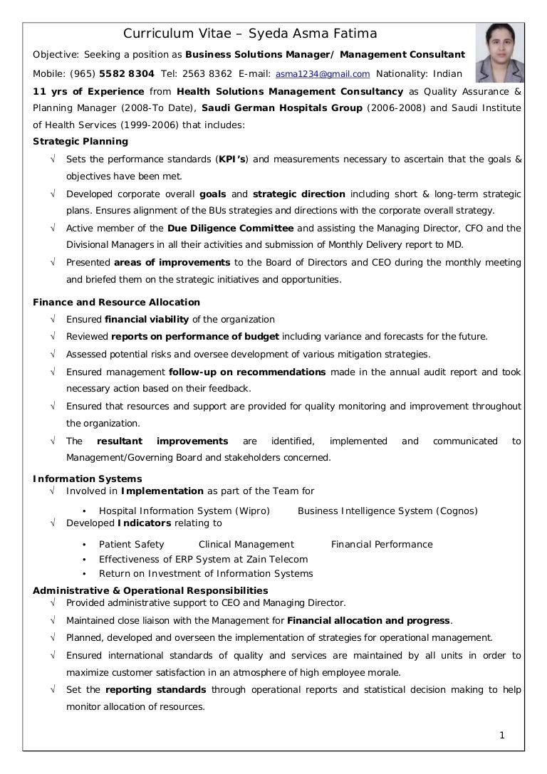 Sale And Marketing Resume Operations Executive Resume Summary Sample  Customer Service Resume Alib Operations Executive Resume