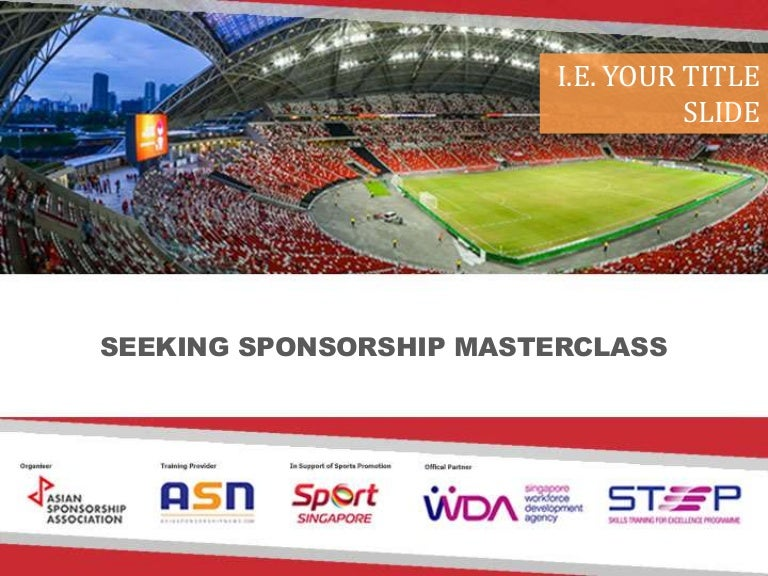 Asn Generic Sponsorship Proposal Template (2016)