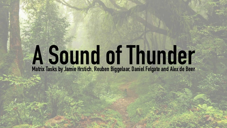 the sound of nature essay