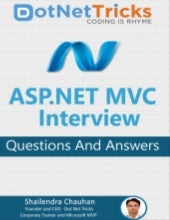 ASP.NET MVC Interview Questions and Answers by Shailendra Chauhan