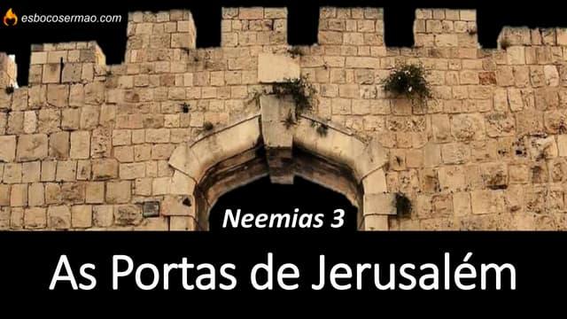 As portas de Jerusalém