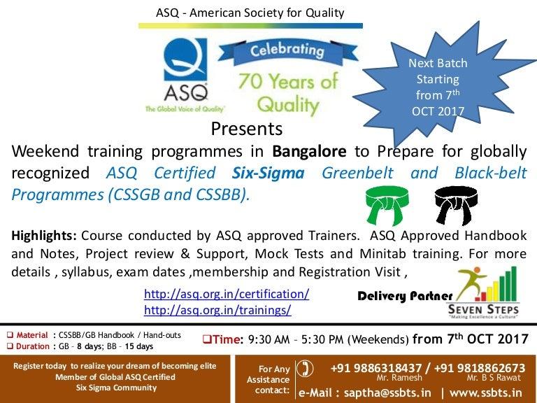 Lean Six Sigma Certification Asq Gallery - creative certificate ...