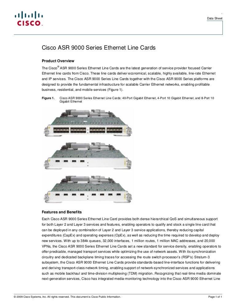 A9KMPA4X10GERF Cisco Systems Asr 9000 4 Port 10GE Module