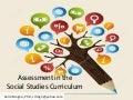 Assessment in the Social Studies Curriculum