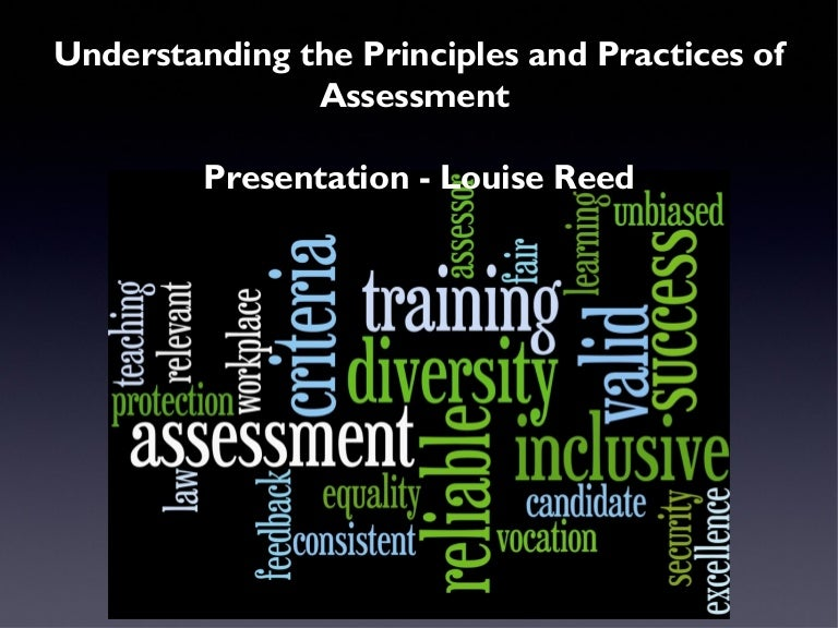 unit 301 understanding the principles and Free essay: anthony walton unit 301: understanding the principles and practices of assessment lo1 understanding the principles and requirements of.