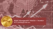 2017 Monitor Awards Gold Winners: Asset Management