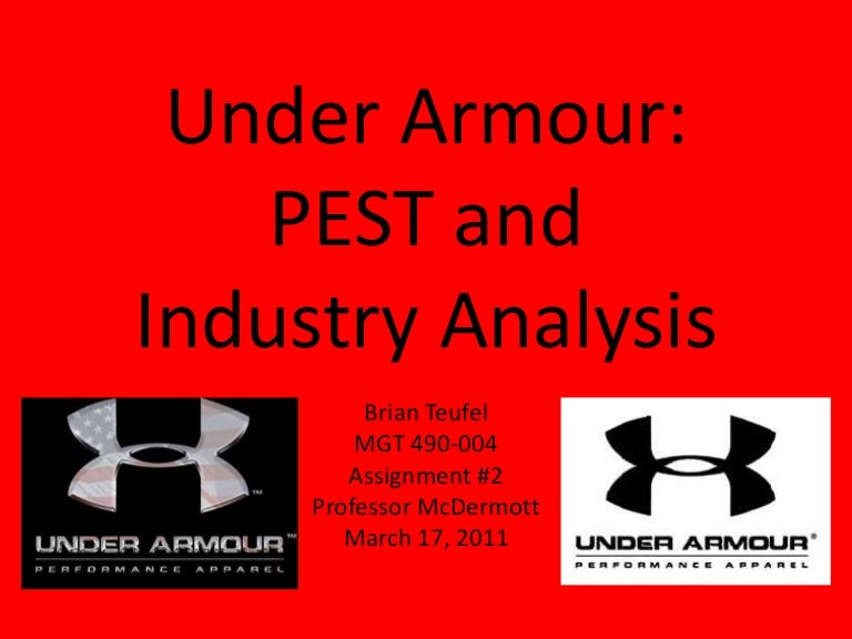 under armour industry analysis Under armour has dominated the performance apparel industry since its inception, as it was the first company to specialize in high quality clothing tailored towards athletes throughout the company's history it has continued its dedication to innovative technology, and.