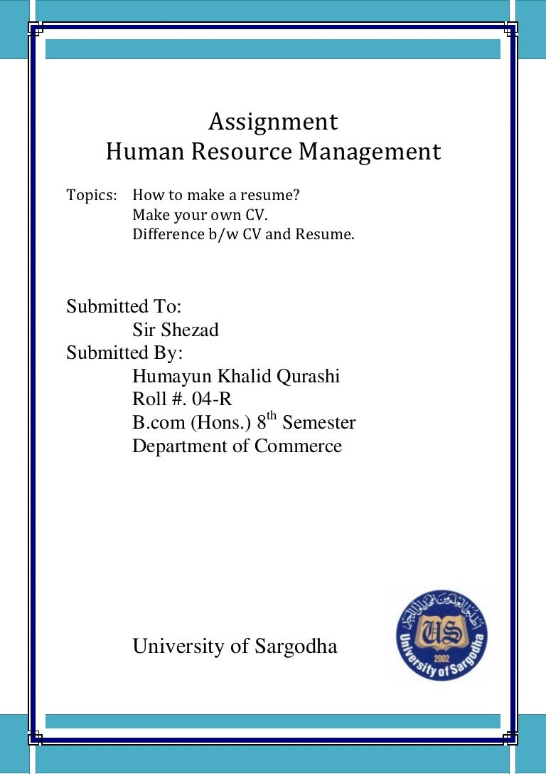 Assignment resume mitanshu Choice Image