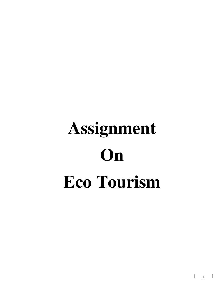 advantages of ecotourism in india