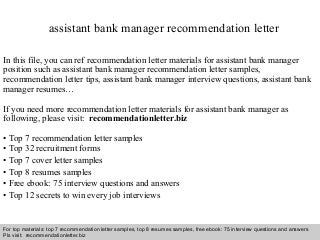 Cover letter for assistant brand manager position
