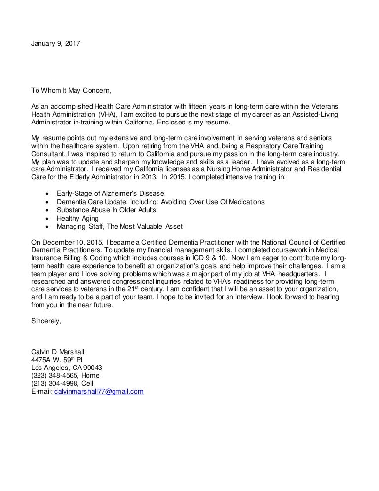 Assisted living admin in training revised cover letter 1.9 17