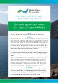Economic growth and water: an integrated approach helps