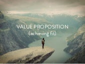 Value Propostition Canvas