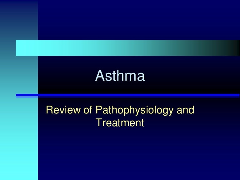 asthma pathophysiology essay Asthma is a common chronic disease worldwide and affects approximately 24 million persons in the united states it is the most common chronic disease in childhood, affecting an estimated 7 million children.