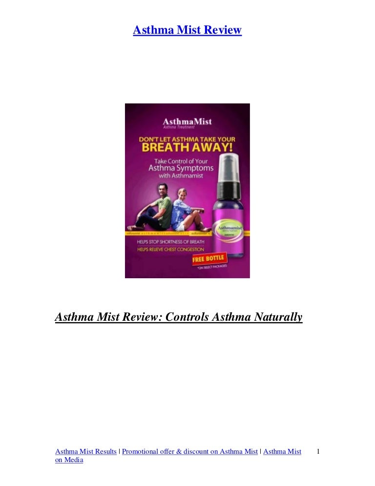 Asthma Mist Review