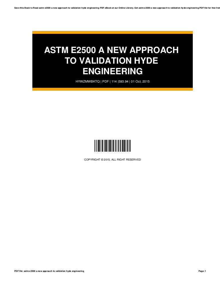 Astm E2500 Pdf