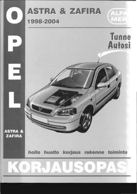 manual usuario opel astra f rh slideshare net manual de taller opel astra h 1.6 16v manual taller opel astra h pdf