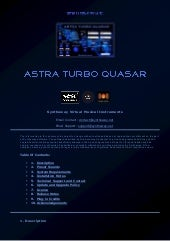 Astra Turbo Quasar VST, VST3 and Audio Unit Plugin: Dual Phase Distortion Synthesizer: Leads, Pads, Keys, Atmos, Ambient Textures, Soundscapes (Windows, macOS)