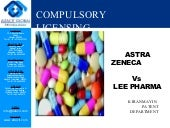Astra zeneca vs lee pharma