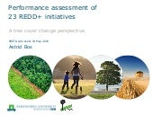 Performance assessment of 23 REDD+ initiatives: A tree cover change perspective