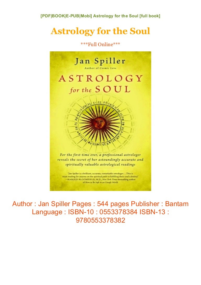 Astrology for the Soul Download [eBooks]