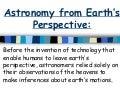 Astronomy part 2