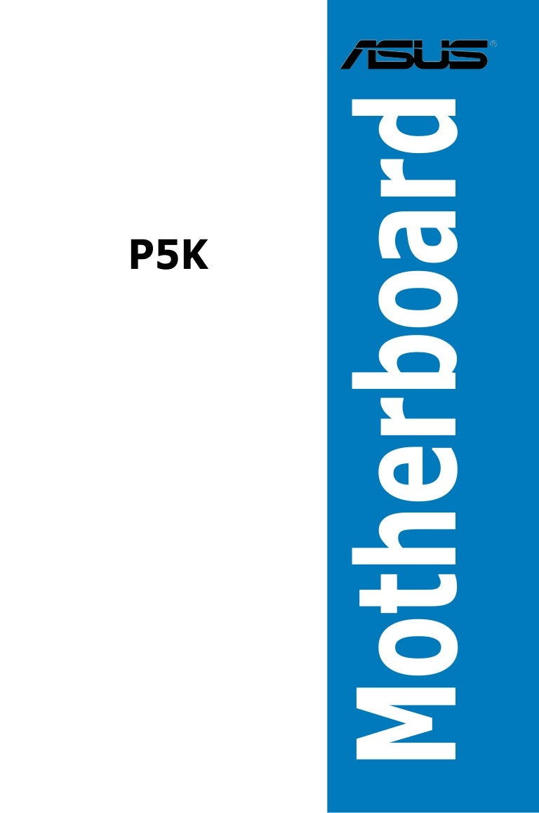 Asus P5k Motherboard Wiring Diagram