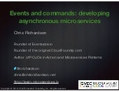 SVCC Developing Asynchronous, Message-Driven Microservices