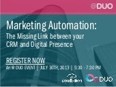 @ DUO: July 30 Networking & Marketing Event