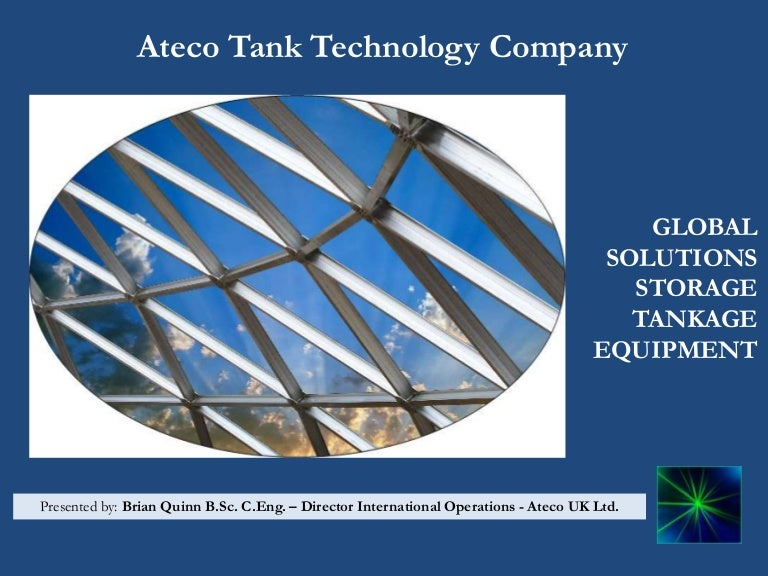 Ateco Dome Power Point Presentation Master